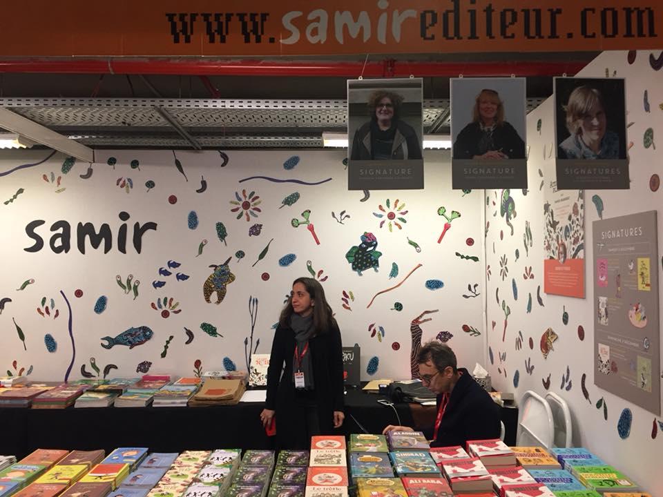 Salon du livre de montreuil 2017 samir diteur for Salon du livre montreuil 2017