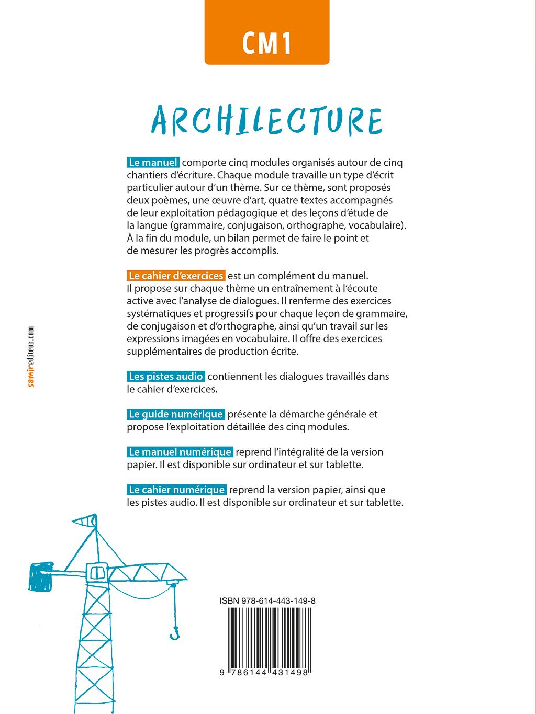 Cahier D Exercices Cm1 Archilecture Ne Samir Editeur