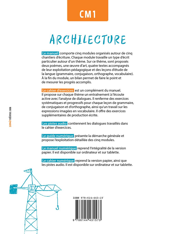 Cahier D Exercices Numerique Cm1 Archilecture Ne Samir Editeur