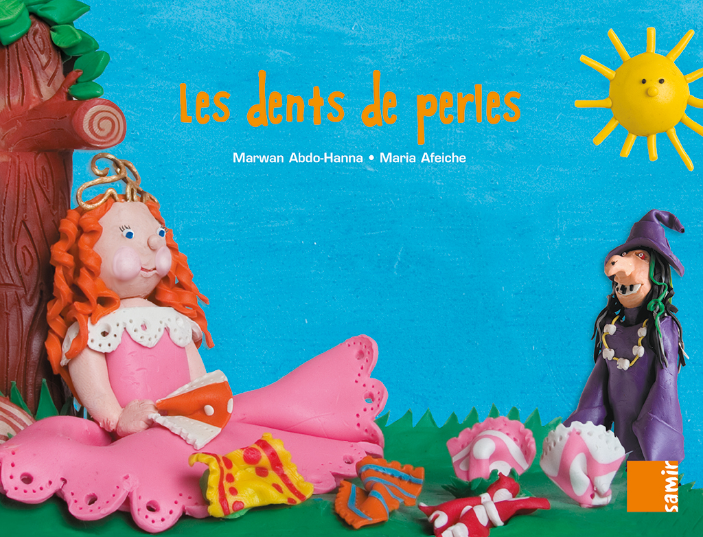Samir Éditeur - Grand album MS – P4 Les dents de perles - Couverture