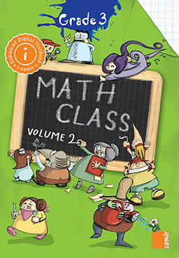 Samir Éditeur - La classe de math - Digital Workbook Grade 3 Volume 2