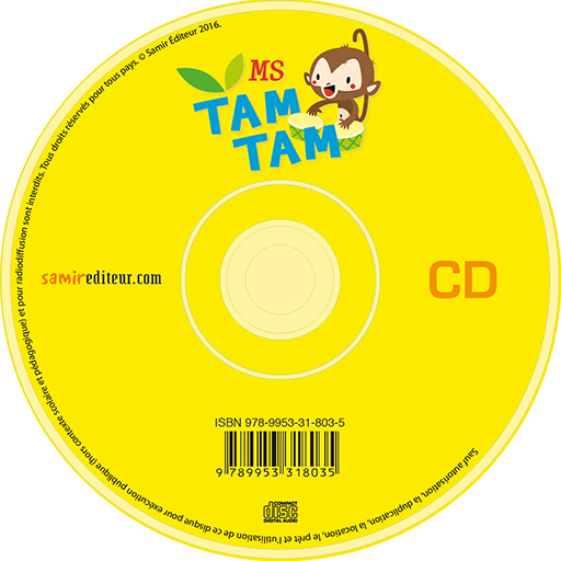 Samir Éditeur - Tam-Tam - Audio MS – CD